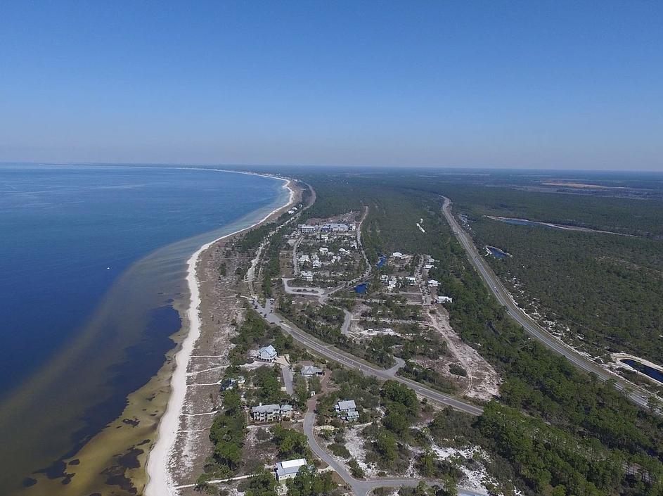 image of Aerial of our gulf coast, St. Joe Beach, WindMark Beach and Mexico Beach